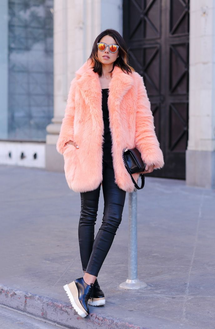 Fancy Outfit Ideas With Fur Coats 2017