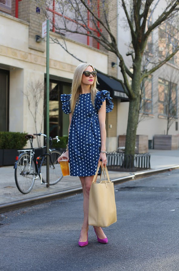 Retro & Vintage Inspired Polka Dot Dresses Styles 2021