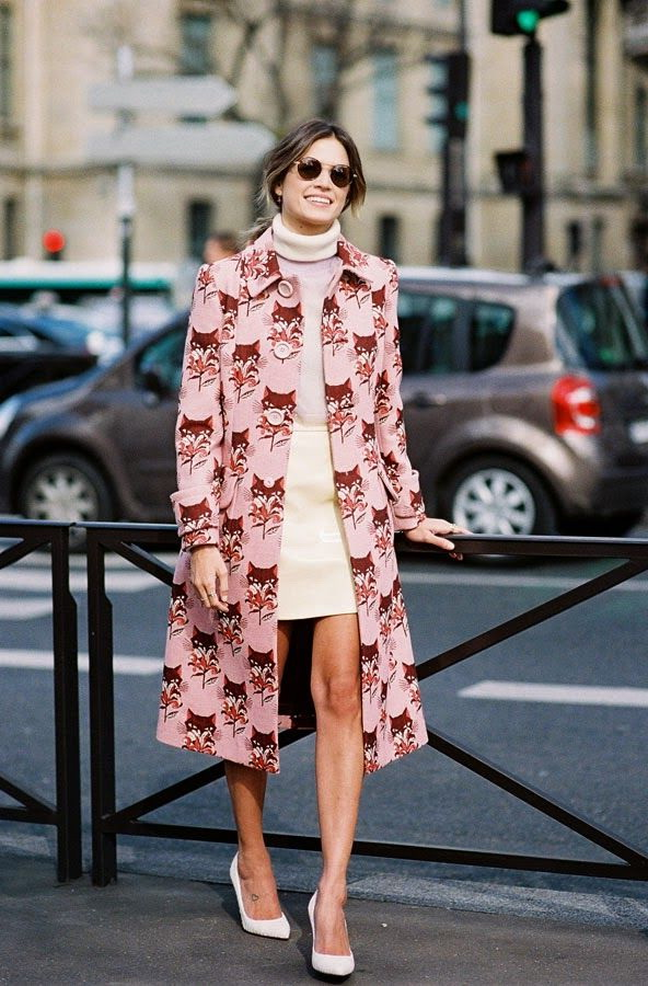 Printed Coats Styles For Ladies 2021