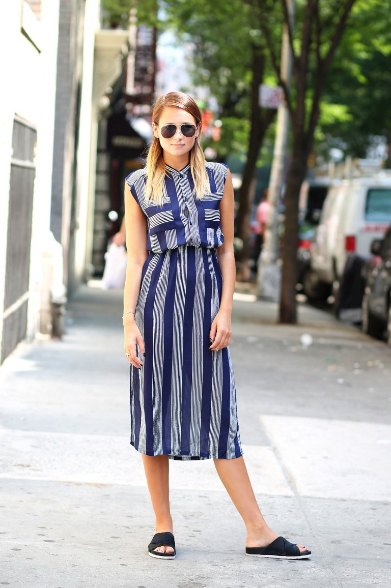 Casual Striped Dresses 2020