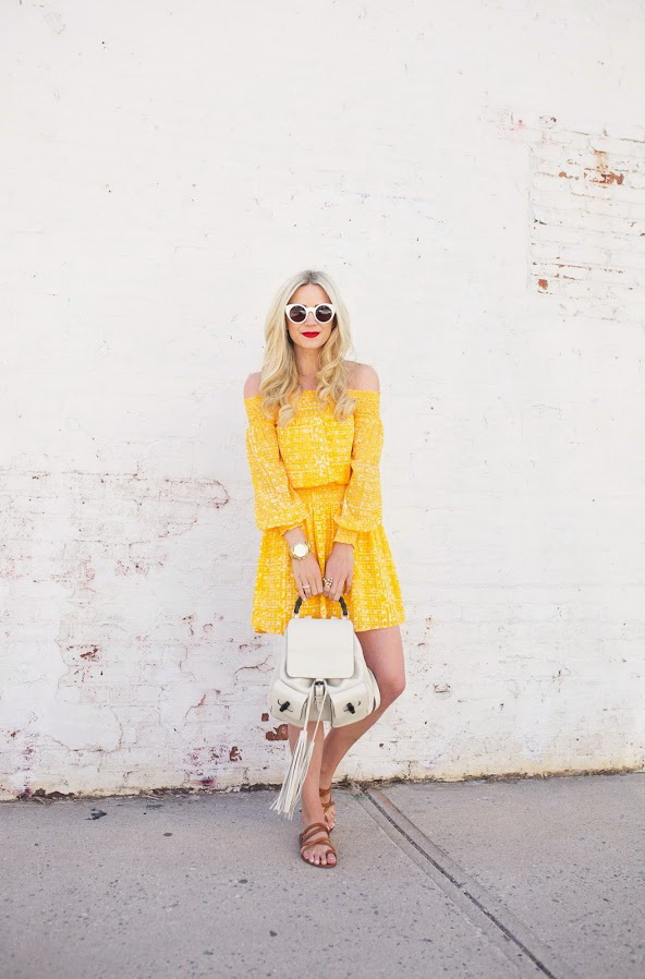 Stylish Yellow Dresses 2021