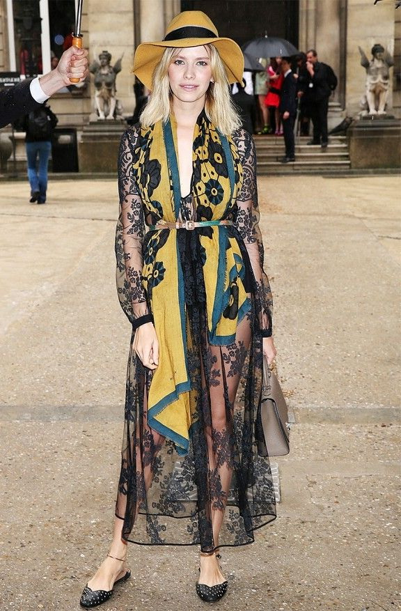 Style Ideas: How To Wear Sheer Dresses 2021