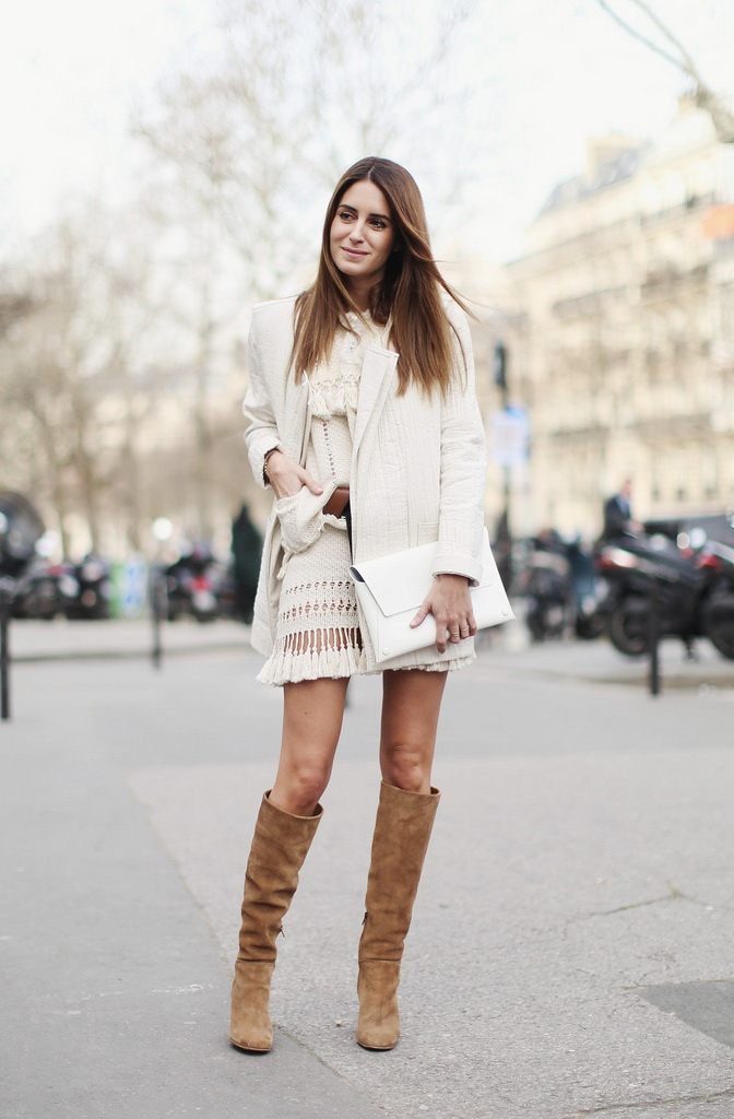 20 Super-Stylish Ways to Wear Knee-High Boots 2021