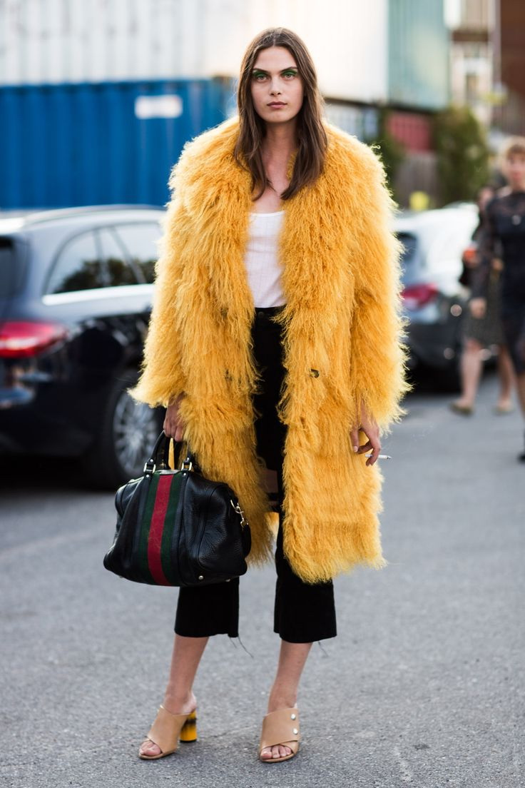 How To Wear A Fur Coat 2018 | FashionTasty.com