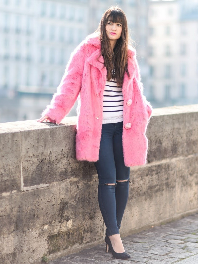 Fancy Outfit Ideas With Fur Coats 2021