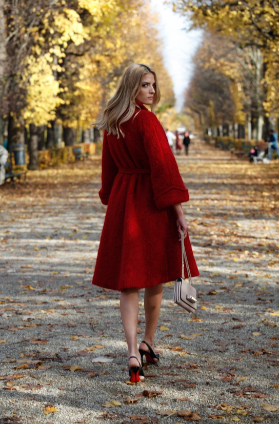How to Wear Red Coats – Street Style Inspiration 2018 ...