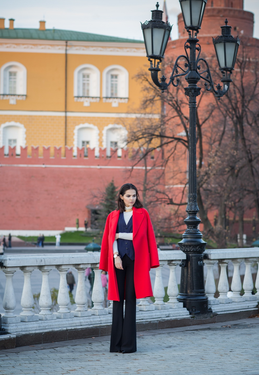 How to Wear Red Coats - Street Style Inspiration 2019