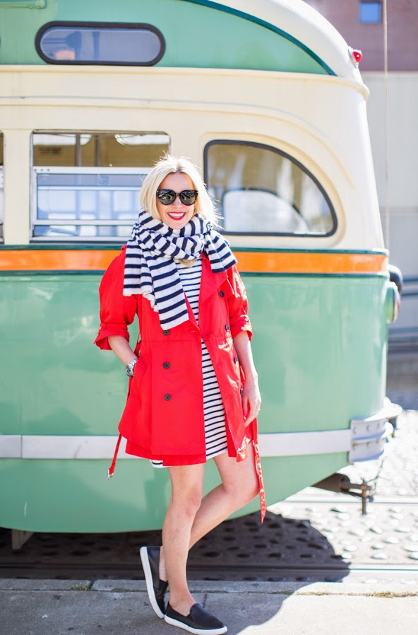 How to Wear Red Coats - Street Style Inspiration 2020