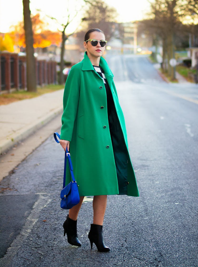 10 Ways To Wear A Green Coat 2020