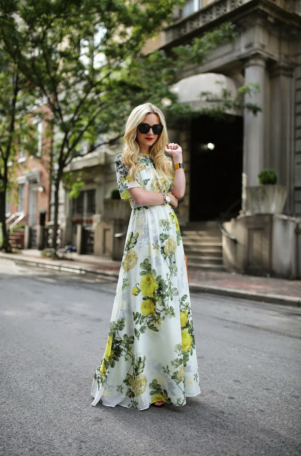 Floral Dresses For Special Occasions 2020