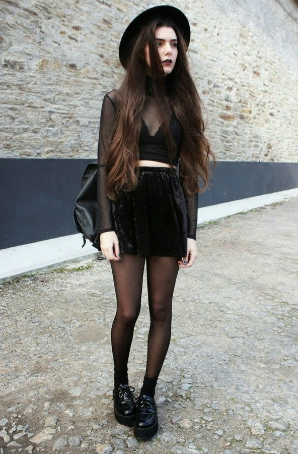 20 Ways To Wear All Black Outfits 2019 Fashiontasty Com