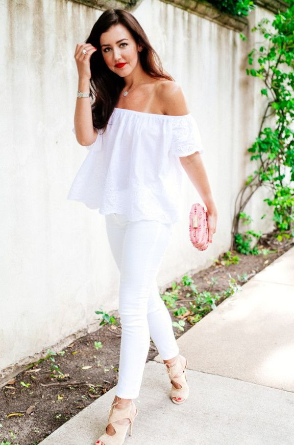 How To Style Pants In All White Outfits 2020