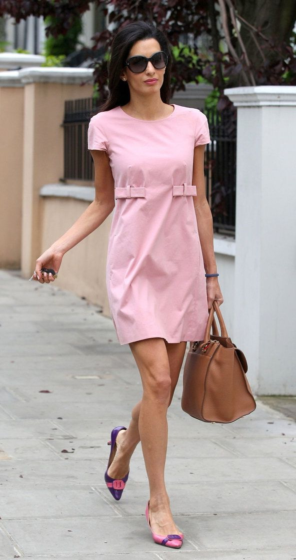 What To Wear With Pink Dresses 2019