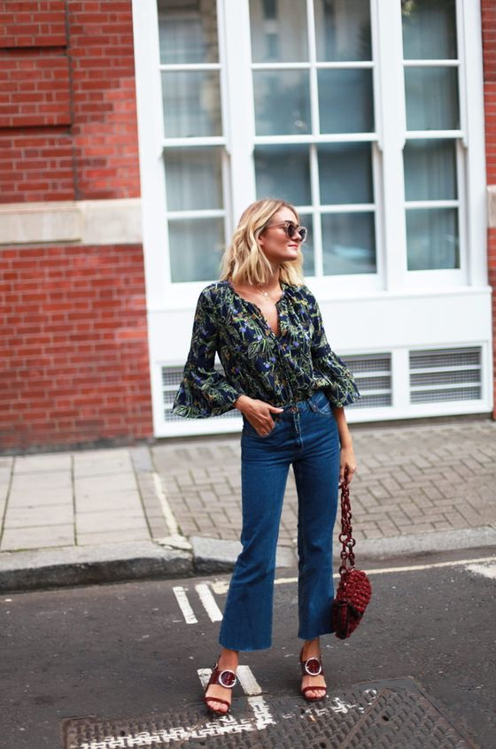 How To Wear: Wide Leg Jeans For Women 2019