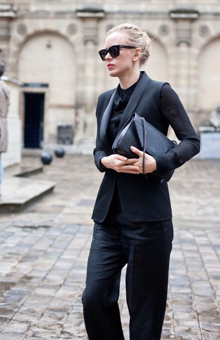 All Black Outfit Ideas For Work 2021