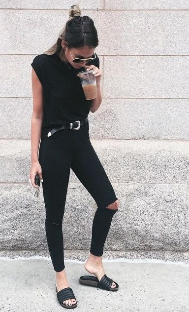 20 Ways To Wear All Black Outfits 2019