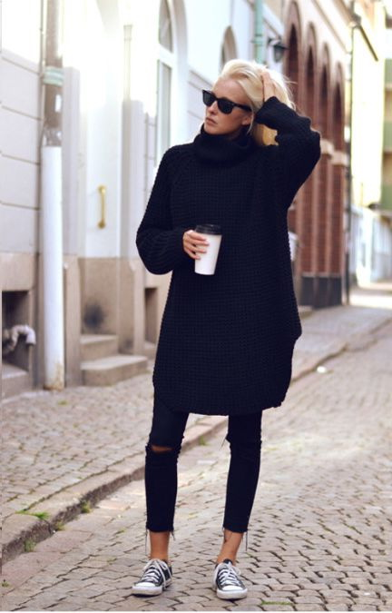 Sweater Dresses Outfit Ideas 2019 Fashiontasty