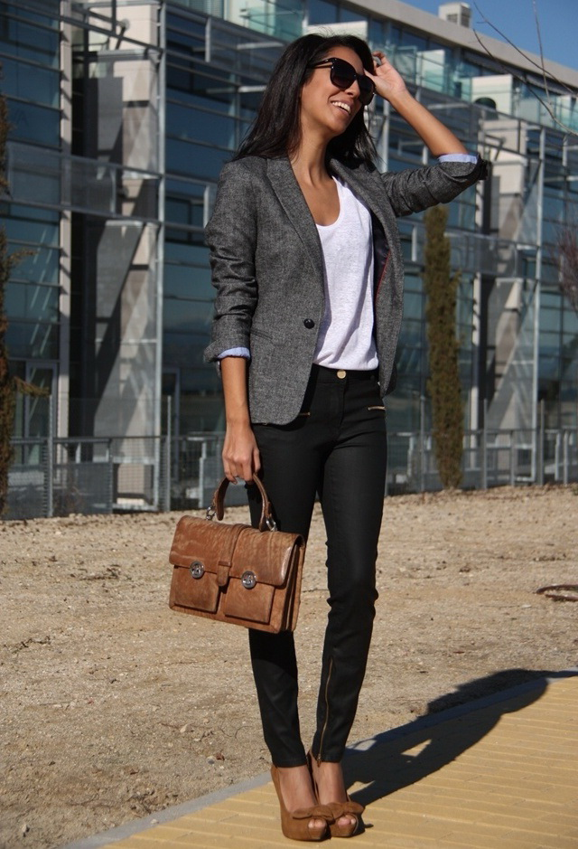 How To Wear A Blazer To Work 2019