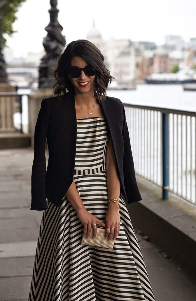 16 Ways To Wear A Striped Dress 2019