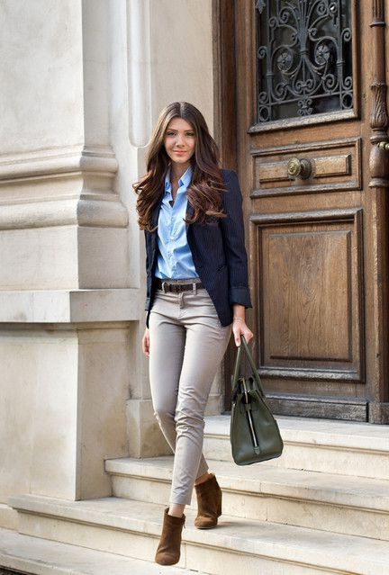 How To Wear A Blazer To Work 2017 | FashionTasty.com