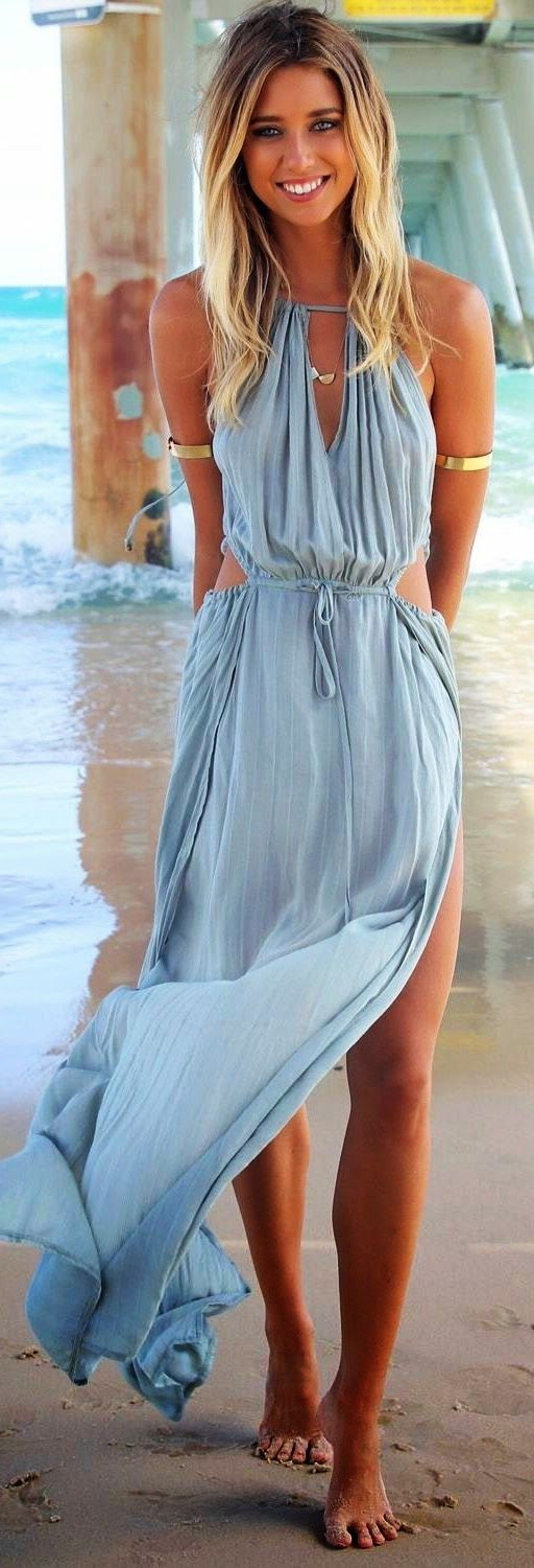 Summer Maxi Dresses Styles 2020