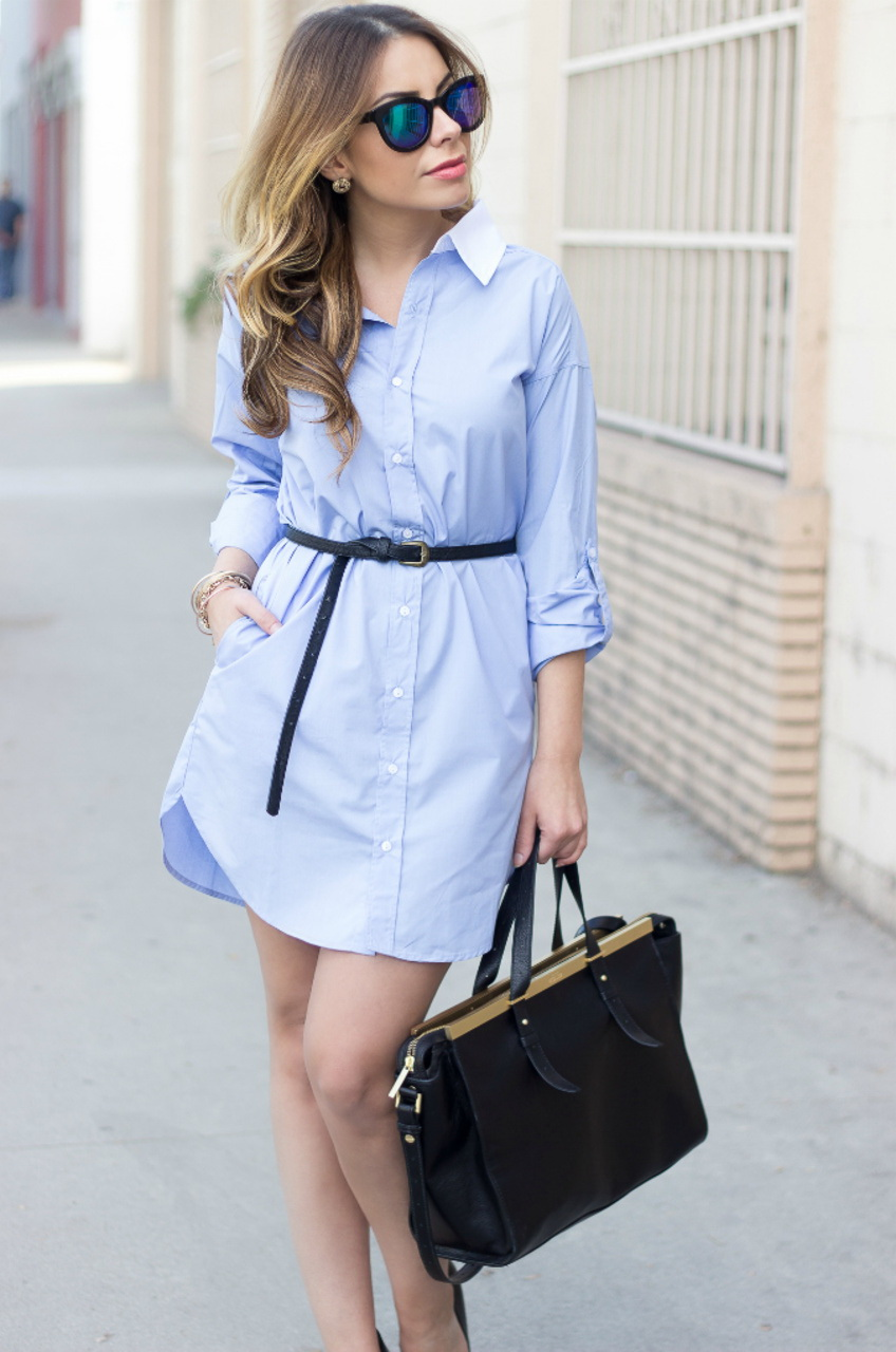 How To Wear: Shirt Dresses 2021