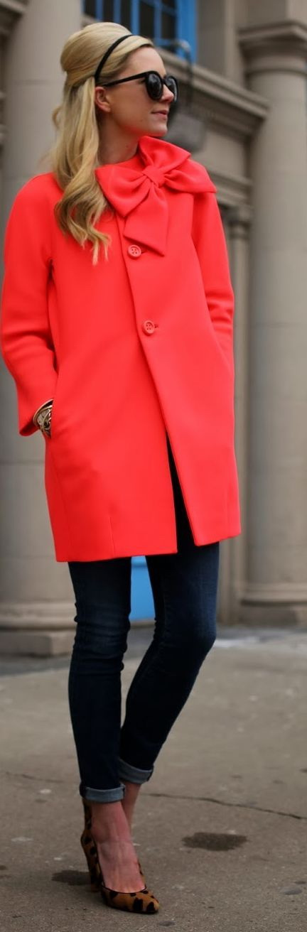 Bright Color Coats For Women 2021