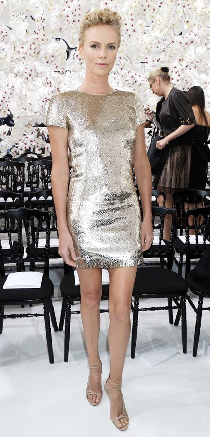 Metallic and Sequined Dresses 2020