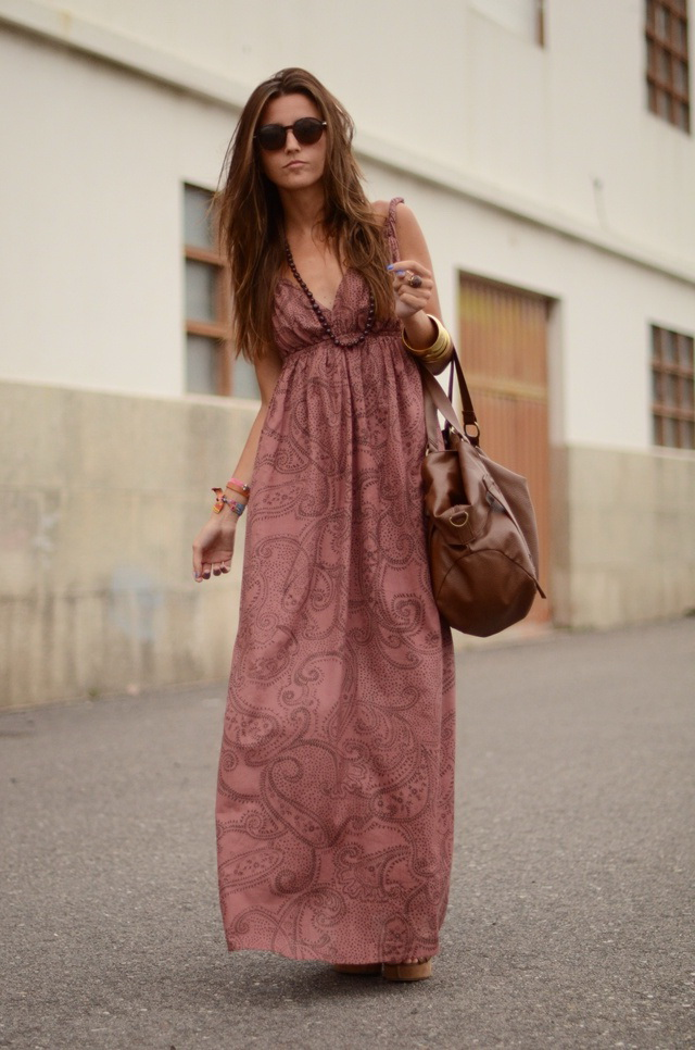 How To Wear A Boho Chic Dress