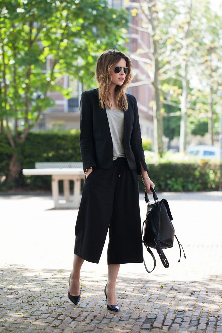 How to Wear Culottes 2019