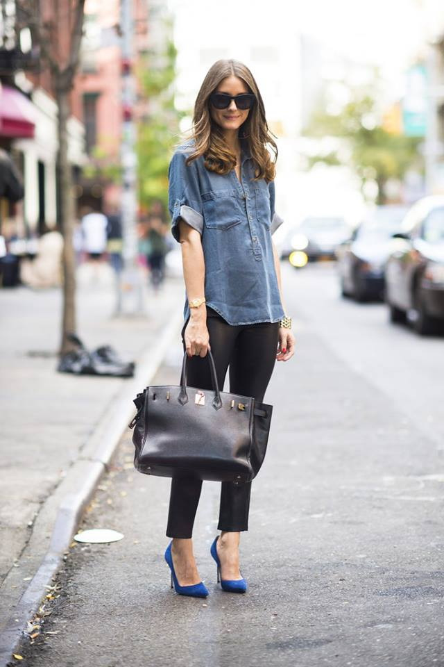 25 Fashion Tips On How To Wear A Denim Shirt 2021