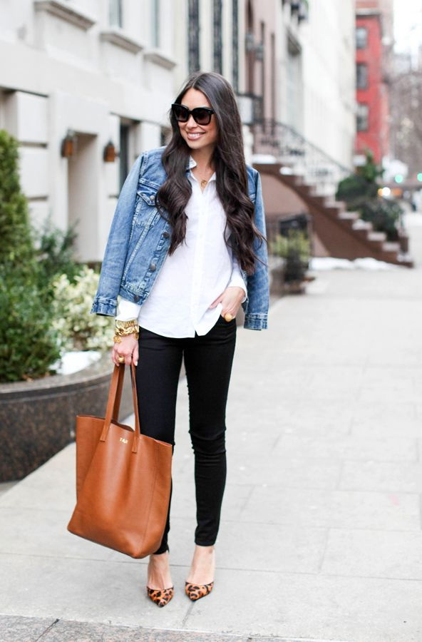 How To Wear A Denim Jacket 2018 | FashionTasty.com