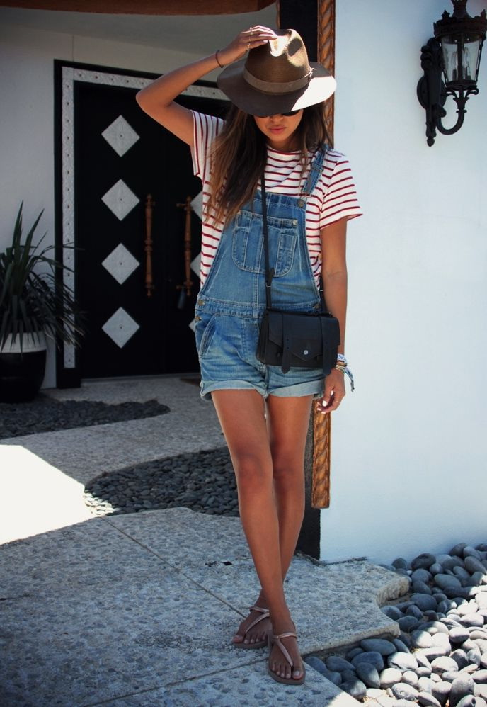 15 Ways To Wear Denim Overalls 2019 Fashiontasty Com