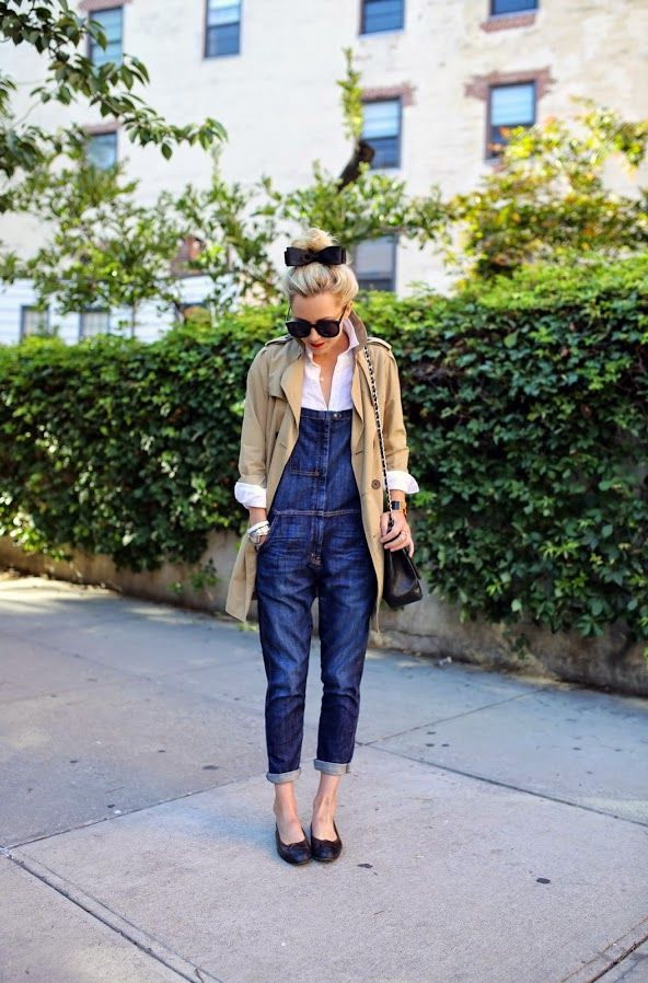 15 Ways To Wear Denim Overalls 2020 Fashiontasty Com