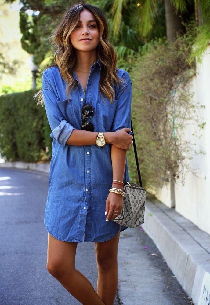 Blue Denim Dresses 2017