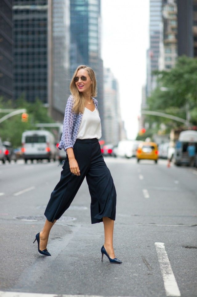 How to Wear Culottes 2021