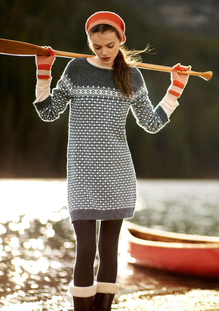 Knitted Dresses Outfit Ideas 2018 | FashionTasty.com