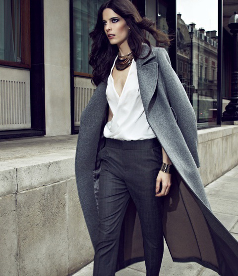 Grey Coat Outfit Ideas to Copy Now 2019