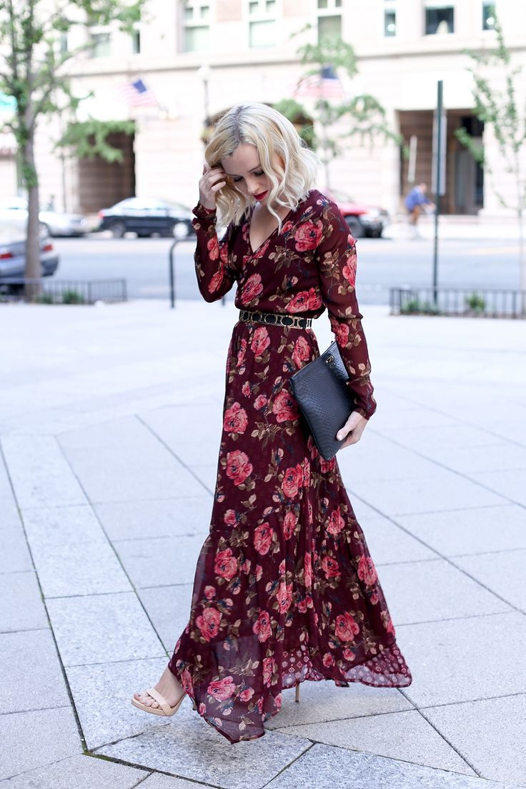 15 Ways To Style Your Maxi Dresses For Fall 2020