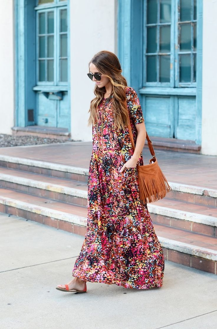 Summer Maxi Dresses Styles 2019 Fashiontasty Com
