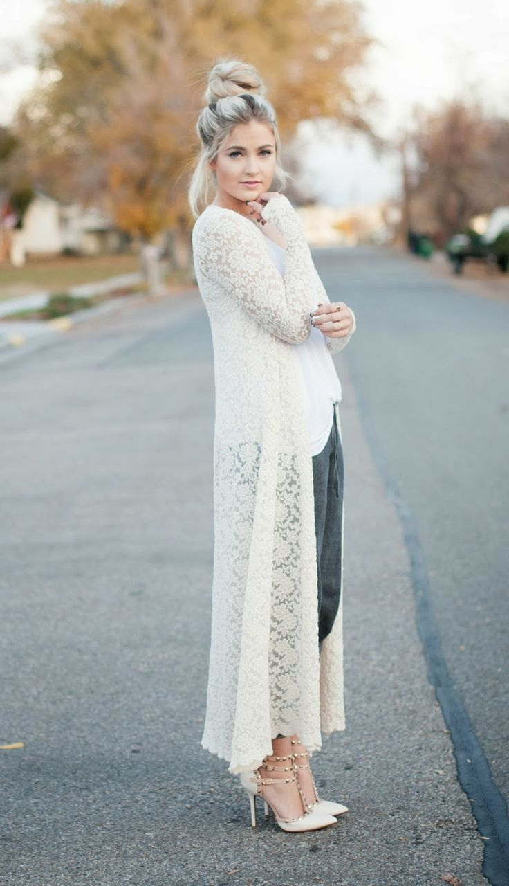Best Ways To Style Long Cardigans 2021