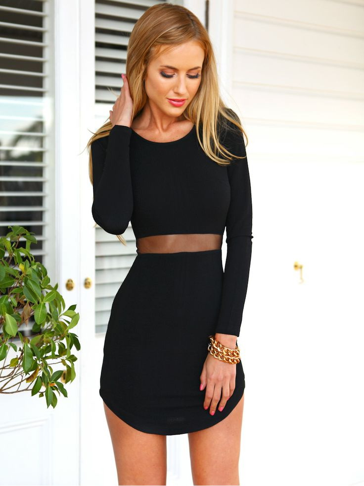 Black Dresses For Cocktail Parties 2019