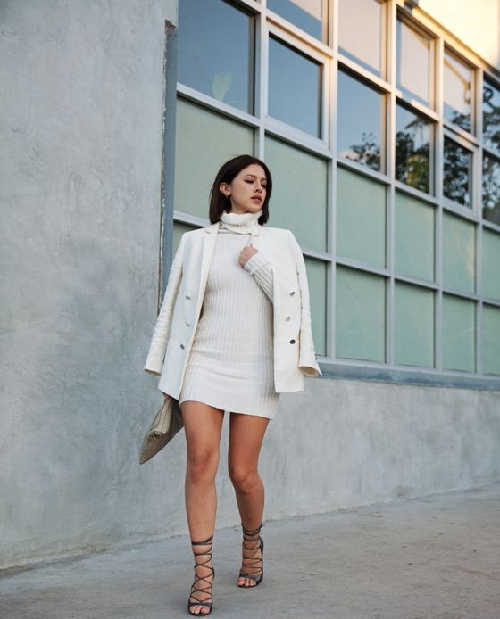 Street Style Trends: White Coats For Women 2021