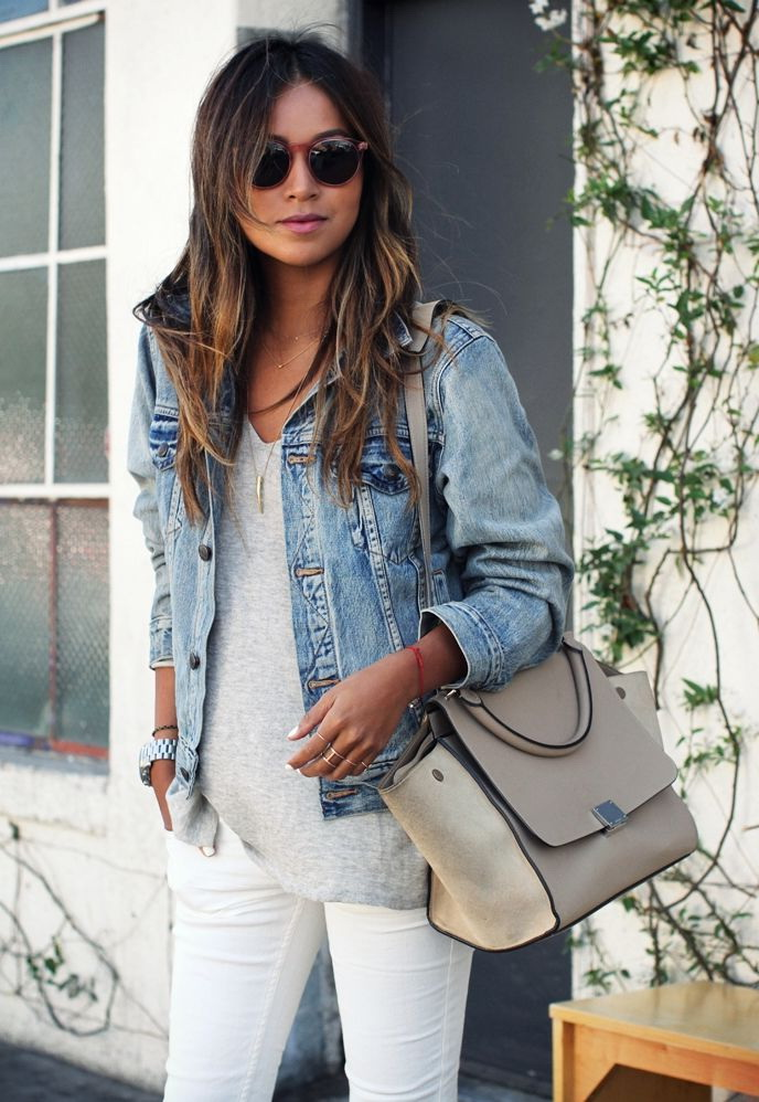 outfit denim jacket