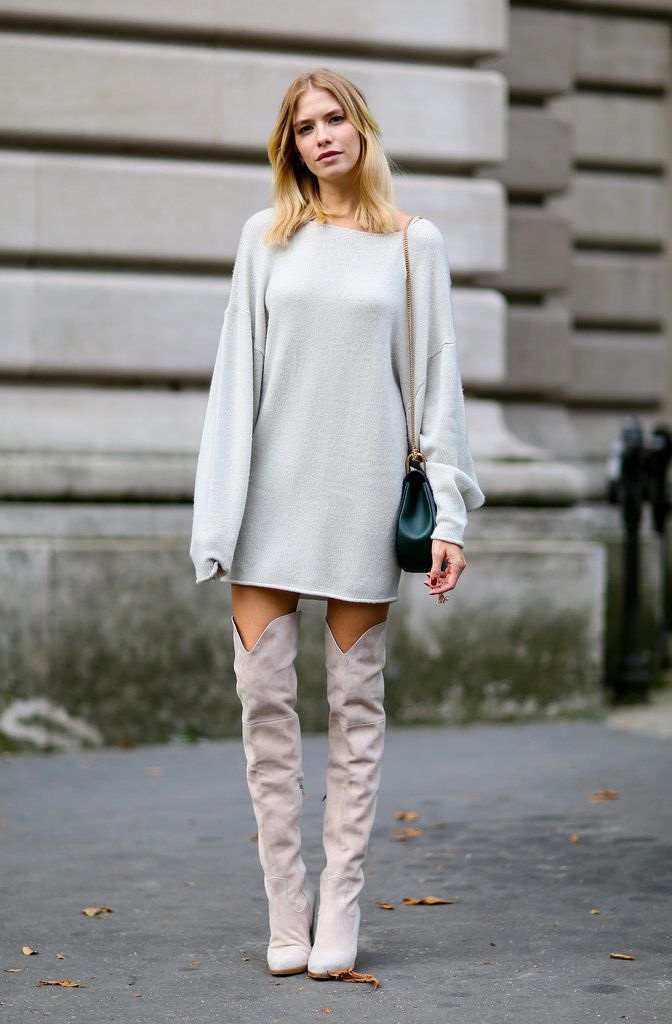 Sweater Dresses Outfit Ideas 2020