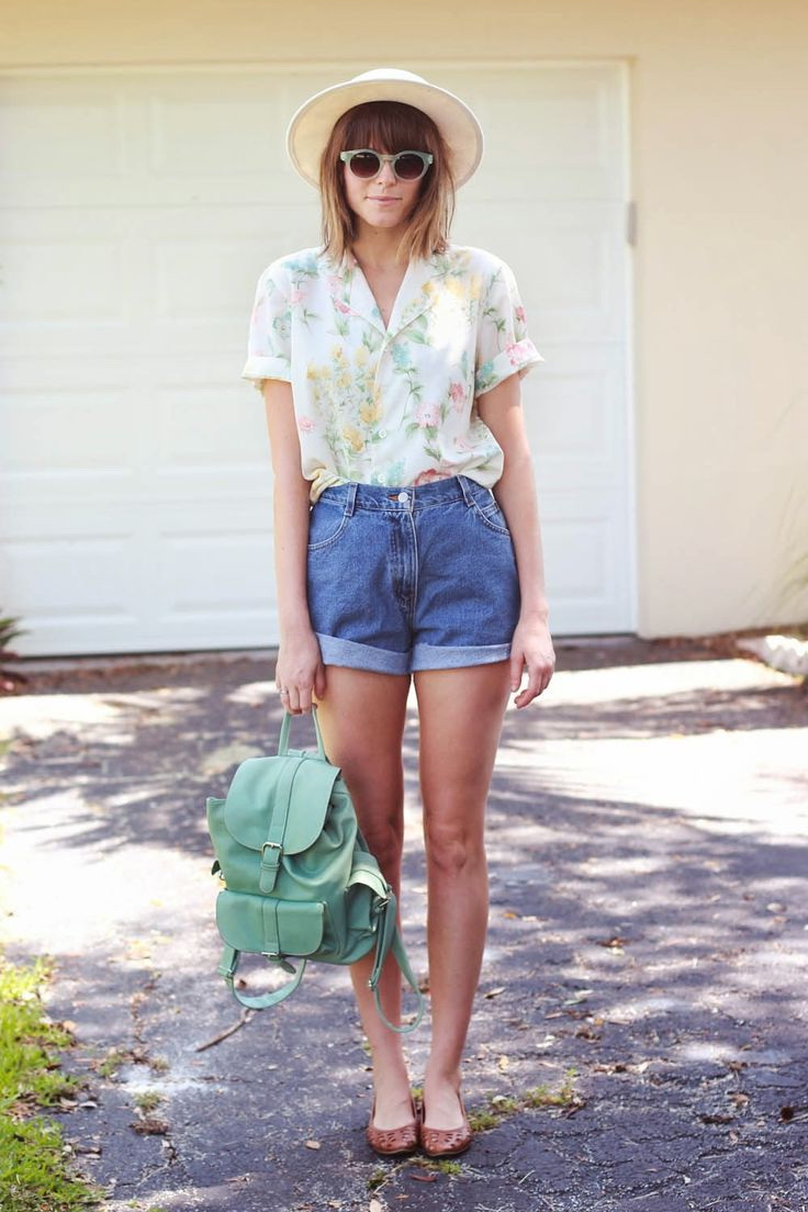 How To Wear: Denim Shorts for Women 2017