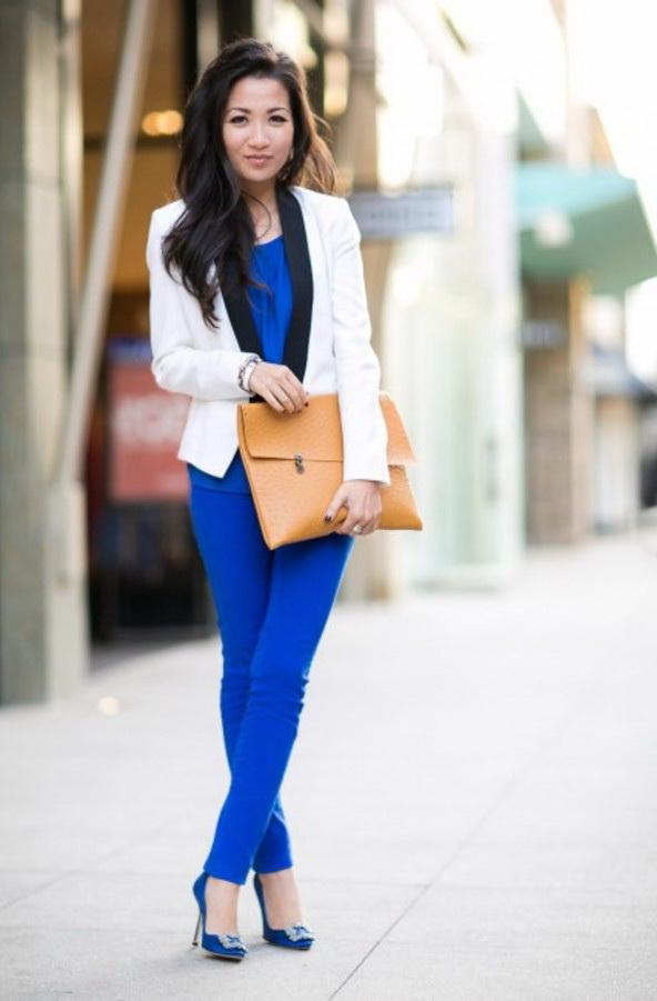 30 Inspiring Ways To Wear A White Blazer 2019 Fashiontastycom