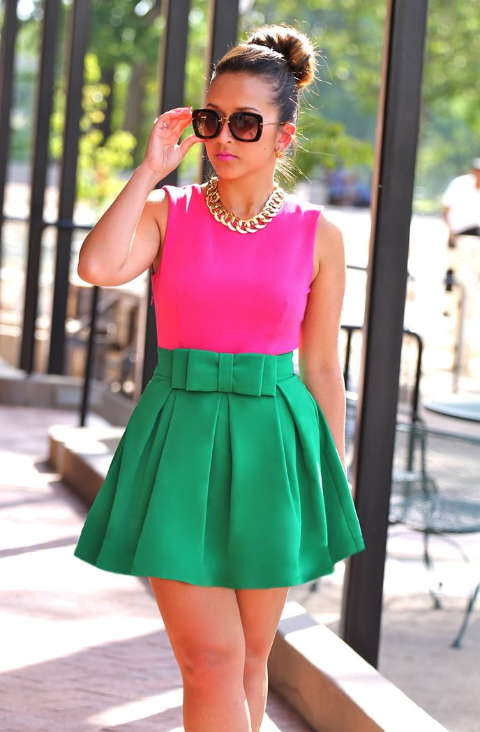 Bright Color Dresses 2020