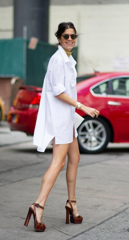 15 Ways To Wear Dresses With Platform Shoes 2019