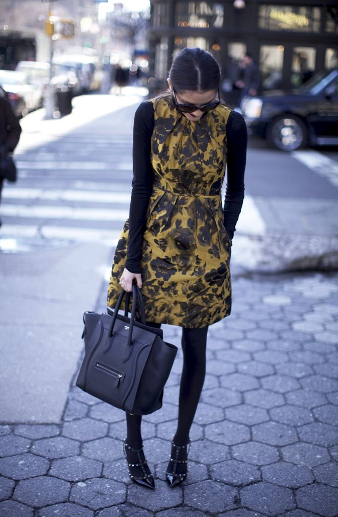 Printed Dresses Outfit Ideas For Fall 2021